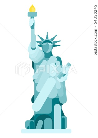 simple statue of the American Monument of Liberty 54350245