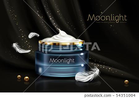 Night cream for sensitive skin realistic 54351004