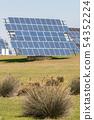 Solar panels from a photovoltaic power plant near Almaraz 54352224