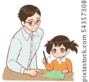 가르치는 선생님과 어린이 그린 노트 나타났다 54357308