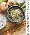 韩国食盐,大米和蔬菜 54357754