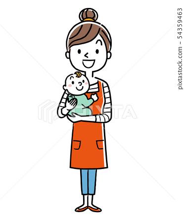 在做父母期间的主妇 54359463