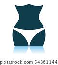 Slim Waist Icon 54361144