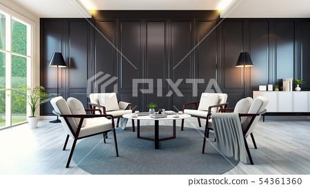 modern contemporary meeting room interior  54361360