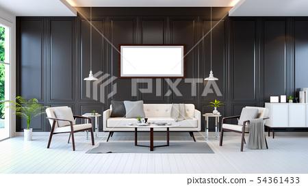 modern contemporary room interior 54361433