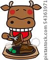소가 쇠고기를 먹는다 54363971