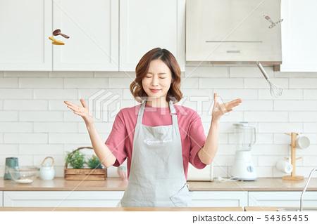 여성 요리 54365455