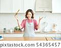 여성 요리 54365457