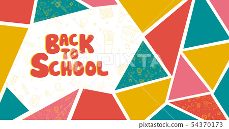Back to school information poster vector design 54370173