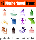Motherhood Icon Set 54370846