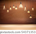Light Bulbs Background 54371353