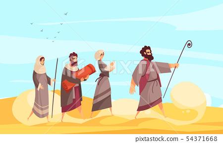 Bible Narratives Moses Composition 54371668