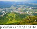 View from the top of Ibukiyama to the direction of Yonehara Yonehara, Shiga Prefecture 54374161