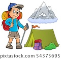 Image with hiker boy topic 1 54375695