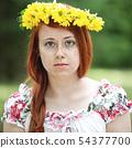blossom, flower, wreath 54377700