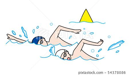 Marathon swimming 54378086