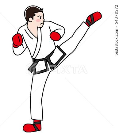 跆拳道 54378572