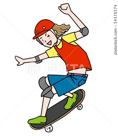 Skateboard 54378574