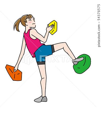 Sports climbing 54378575