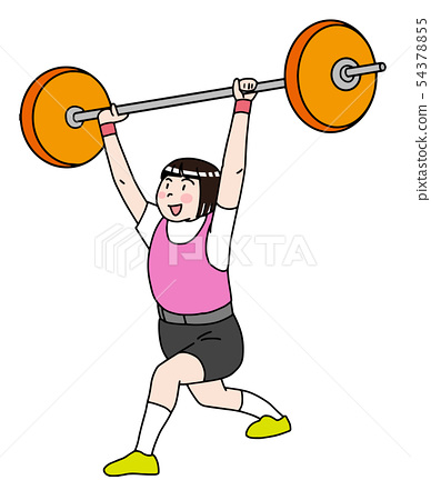 Weight lifting 54378855