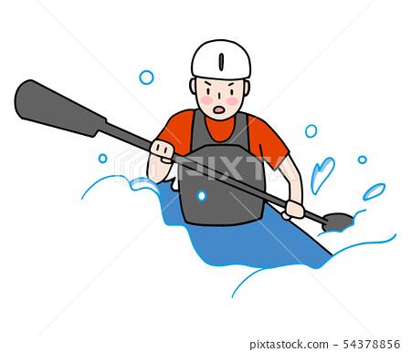 Canoeing 54378856