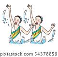 예술적 수영 54378859