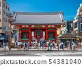 Tokyo cityscape in Japan Senso-ji (Kaminarimon) 54381940