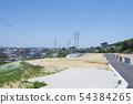 Land for sale, detached house construction, suburbs 54384265