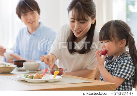 家庭,生活餐飲,餐桌形象 54387447