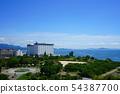 Nagahama city view 【Sawayama Castle Fort Hikone Castle Biwako area】 54387700