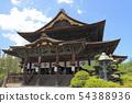 National Treasure Zenko-ji Temple Main Hall 54388936