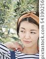 Female portrait 54390256