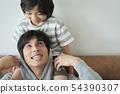 父母和孩子的生活方式 54390307