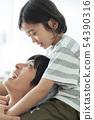 父母和孩子的生活方式 54390316