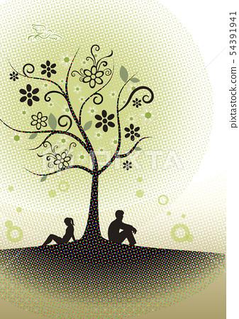 Autumn image illustration 54391941
