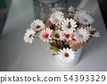 Soft tone beautiful flower in the jar 54393329