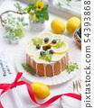 레몬 케이크 티타임 54393868