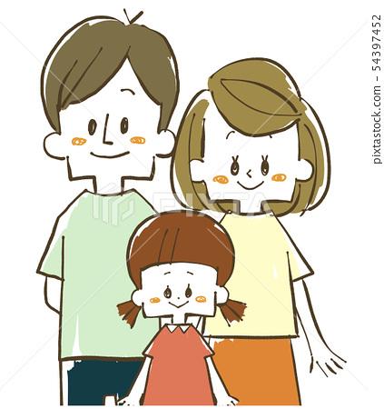 가족 - 부모 - 미소 54397452