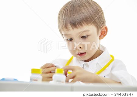 유아,어린이,키즈,의사,닥터,의료,병원놀이 54403247