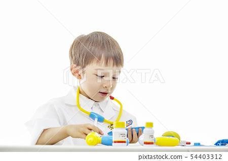 유아,어린이,키즈,의사,닥터,의료,병원놀이 54403312