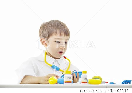 유아,어린이,키즈,의사,닥터,의료,병원놀이 54403313