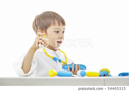 유아,어린이,키즈,의사,닥터,의료,병원놀이 54403315