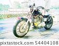 할리 Bike 오토바이 54404108