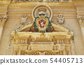 Details of the Saint Paul cathedral in Mdina. 54405713