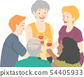 Seniors Wine Club Illustration 54405933