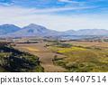 Franschhoek vineyard landscape, South africa 54407514