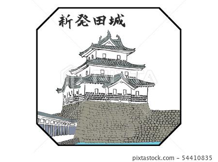 시바타 성 100 명성 일러스트 54410835