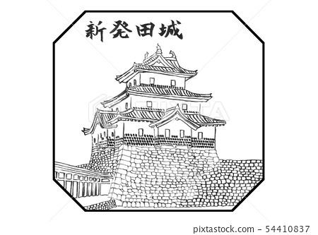 시바타 성 100 명성 일러스트 54410837