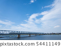 รถไฟข้ามแม่น้ำเอโดกาวะ 54411149