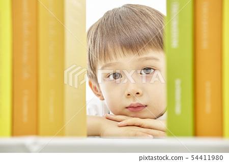 유아,어린이,키즈,책,독서,공부,학습,교육,비즈니스맨 54411980